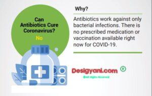 Antibiotic for corona virus fact check